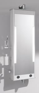 Spiegel und ablagen for Drehschrank bad